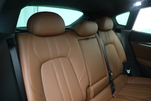 New 2021 Maserati Levante S GranSport for sale Call for price at Bentley Greenwich in Greenwich CT 06830 24