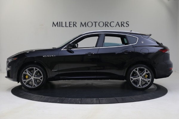 New 2021 Maserati Levante S GranSport for sale Call for price at Bentley Greenwich in Greenwich CT 06830 3