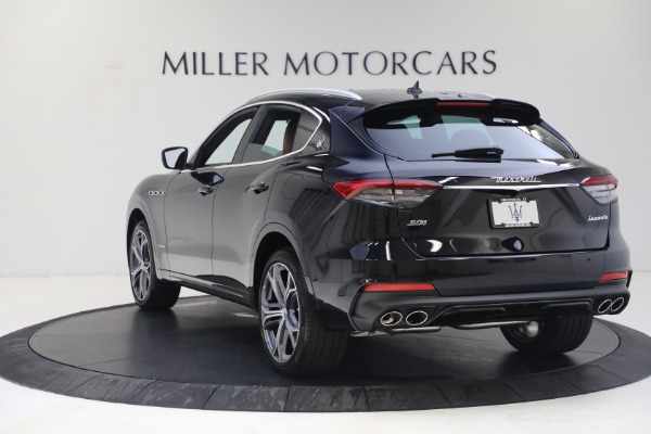 New 2021 Maserati Levante S GranSport for sale Call for price at Bentley Greenwich in Greenwich CT 06830 5