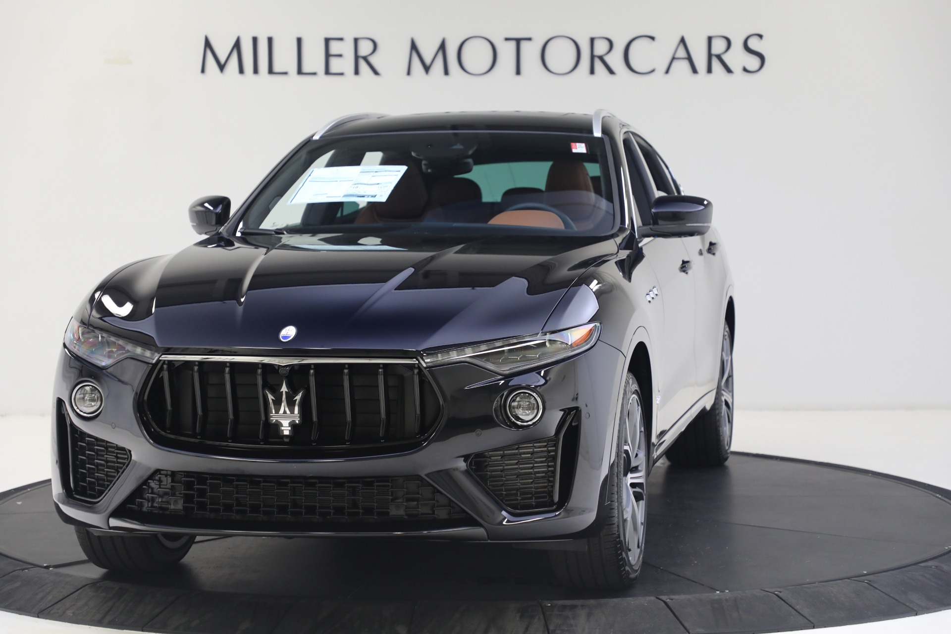 New 2021 Maserati Levante S GranSport for sale Call for price at Bentley Greenwich in Greenwich CT 06830 1