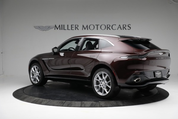 New 2021 Aston Martin DBX for sale $196,386 at Bentley Greenwich in Greenwich CT 06830 3