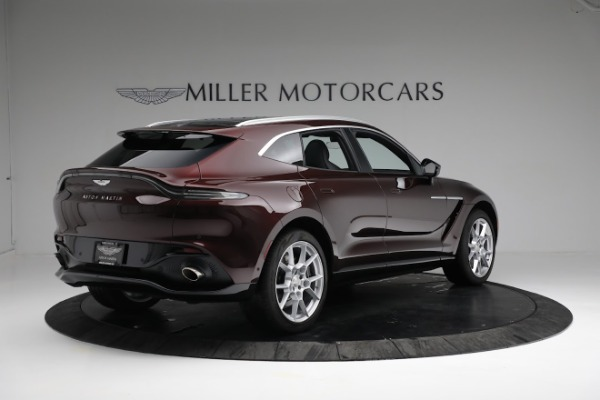 New 2021 Aston Martin DBX for sale $196,386 at Bentley Greenwich in Greenwich CT 06830 7