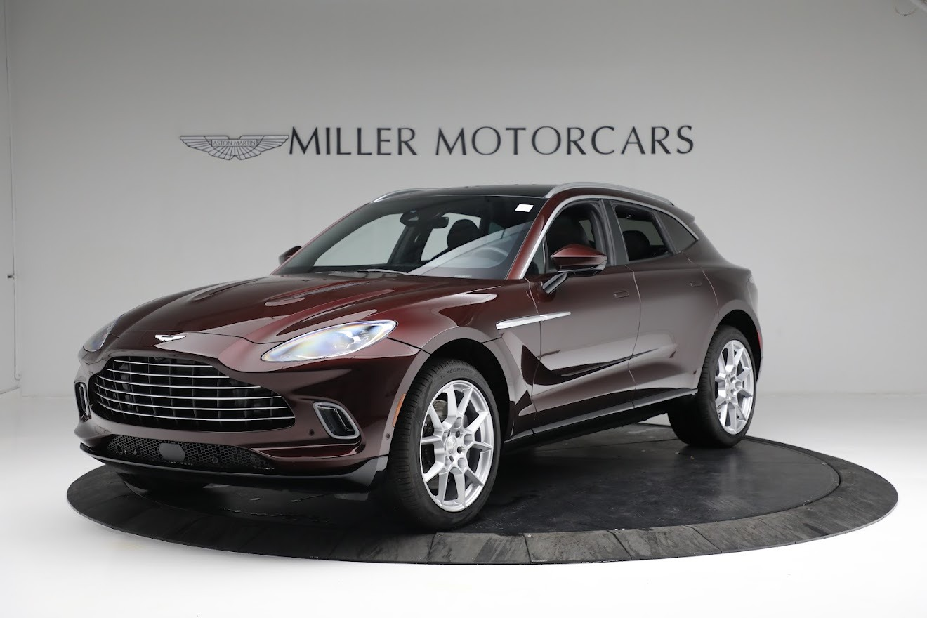 New 2021 Aston Martin DBX for sale $196,386 at Bentley Greenwich in Greenwich CT 06830 1