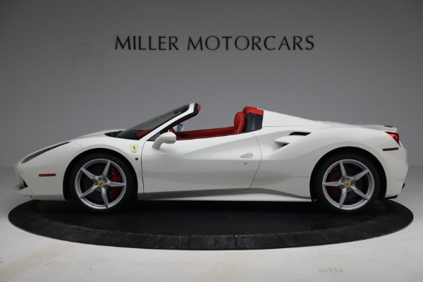 Used 2017 Ferrari 488 Spider for sale Call for price at Bentley Greenwich in Greenwich CT 06830 3