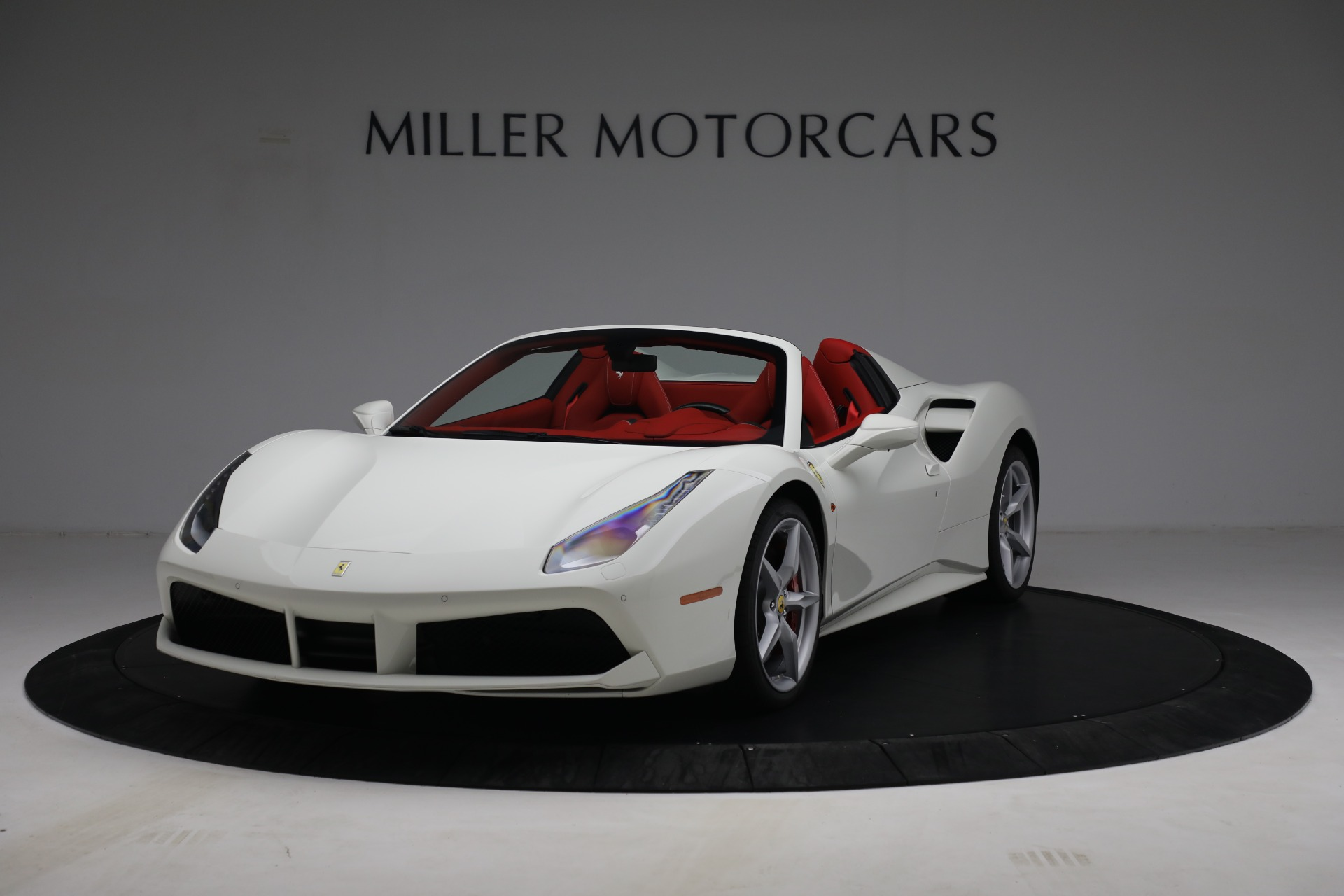 Used 2017 Ferrari 488 Spider for sale Call for price at Bentley Greenwich in Greenwich CT 06830 1