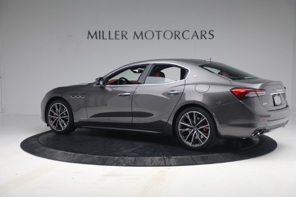New 2021 Maserati Ghibli SQ4 GranLusso for sale Sold at Bentley Greenwich in Greenwich CT 06830 4