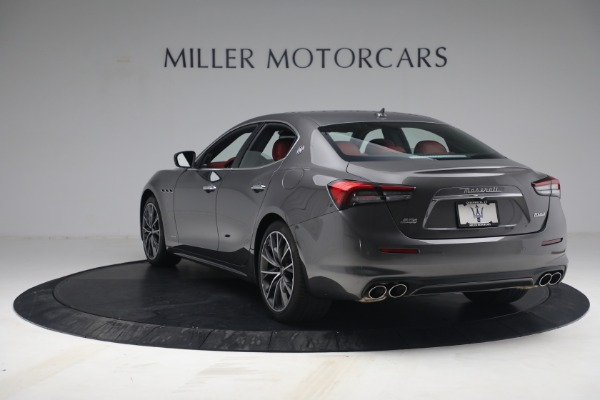 New 2021 Maserati Ghibli SQ4 GranLusso for sale Sold at Bentley Greenwich in Greenwich CT 06830 5