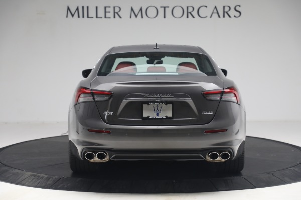 New 2021 Maserati Ghibli SQ4 GranLusso for sale Sold at Bentley Greenwich in Greenwich CT 06830 6