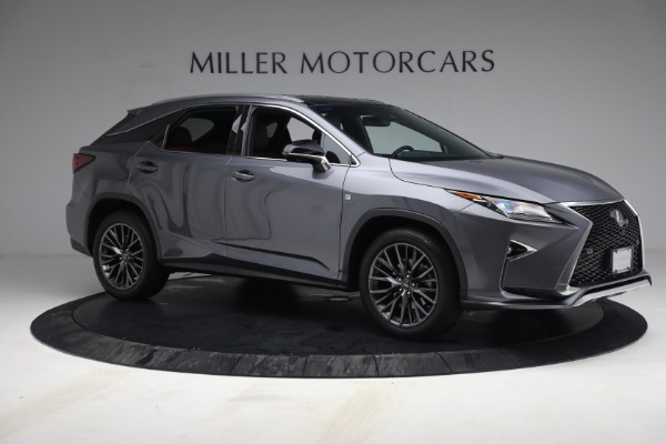 Used 2018 Lexus RX 350 F SPORT for sale $44,900 at Bentley Greenwich in Greenwich CT 06830 10