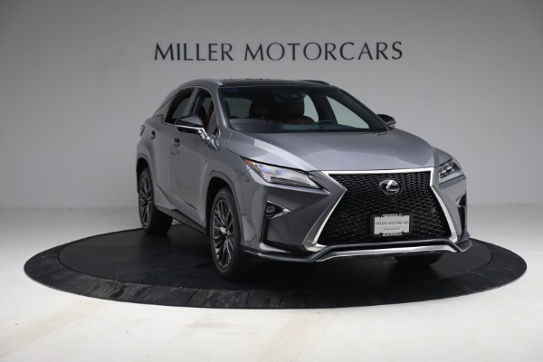 Used 2018 Lexus RX 350 F SPORT for sale $44,900 at Bentley Greenwich in Greenwich CT 06830 11
