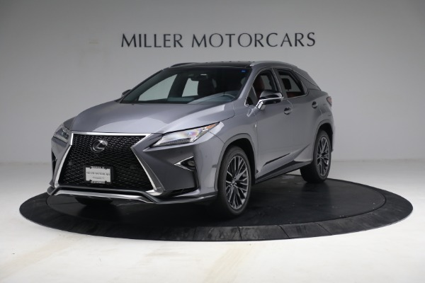 Used 2018 Lexus RX 350 F SPORT for sale $44,900 at Bentley Greenwich in Greenwich CT 06830 1