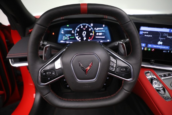 Used 2020 Chevrolet Corvette Stingray for sale Sold at Bentley Greenwich in Greenwich CT 06830 23