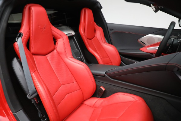 Used 2020 Chevrolet Corvette Stingray for sale Sold at Bentley Greenwich in Greenwich CT 06830 24