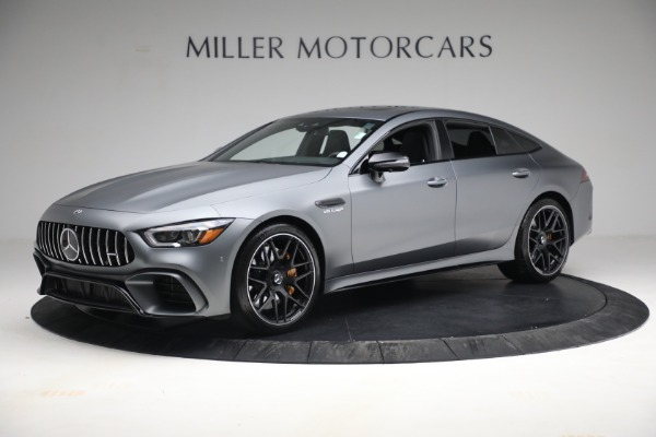 Used 2019 Mercedes-Benz AMG GT 63 for sale Call for price at Bentley Greenwich in Greenwich CT 06830 2