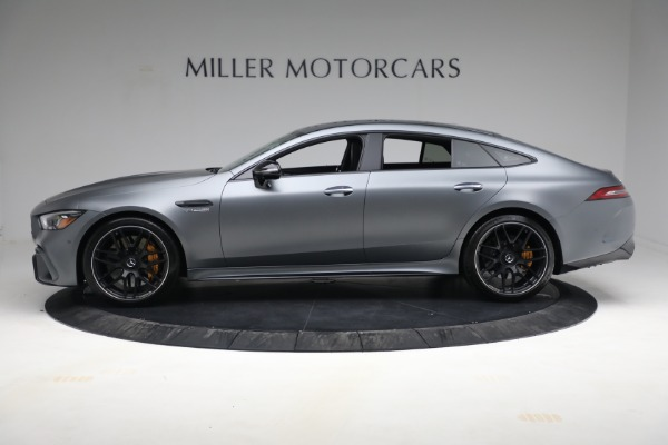 Used 2019 Mercedes-Benz AMG GT 63 for sale Call for price at Bentley Greenwich in Greenwich CT 06830 3