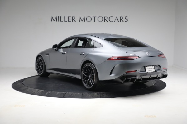 Used 2019 Mercedes-Benz AMG GT 63 for sale Call for price at Bentley Greenwich in Greenwich CT 06830 5