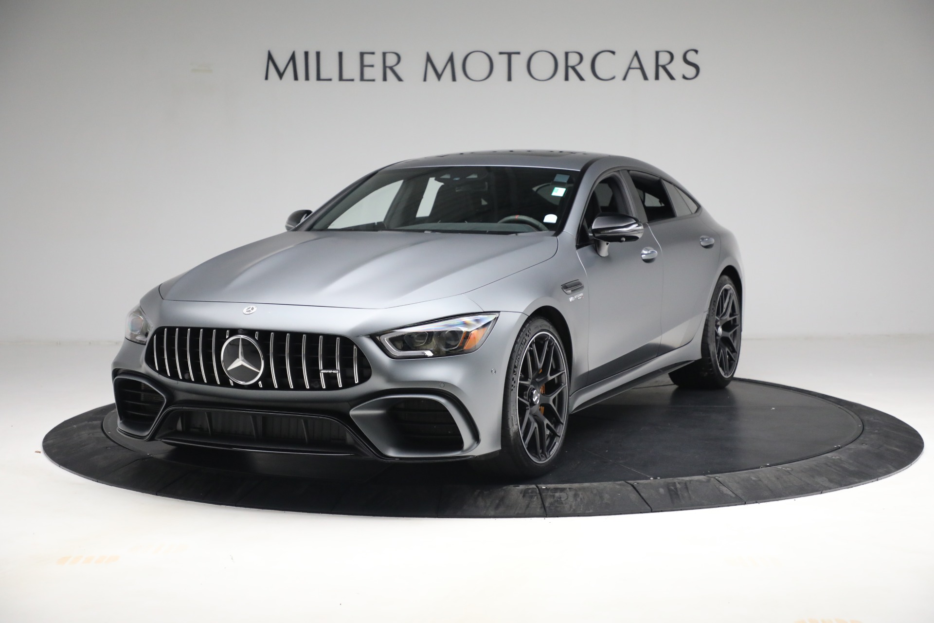 Used 2019 Mercedes-Benz AMG GT 63 for sale Call for price at Bentley Greenwich in Greenwich CT 06830 1