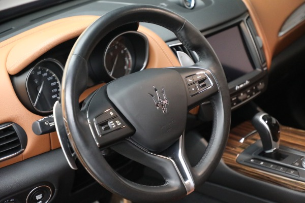 Used 2018 Maserati Levante GranSport for sale Sold at Bentley Greenwich in Greenwich CT 06830 17
