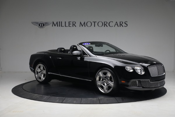Used 2012 Bentley Continental GTC GT for sale $119,900 at Bentley Greenwich in Greenwich CT 06830 10