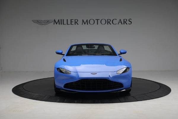 New 2021 Aston Martin Vantage Roadster for sale $186,386 at Bentley Greenwich in Greenwich CT 06830 10