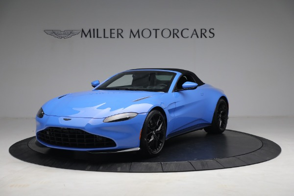 New 2021 Aston Martin Vantage Roadster for sale $186,386 at Bentley Greenwich in Greenwich CT 06830 12