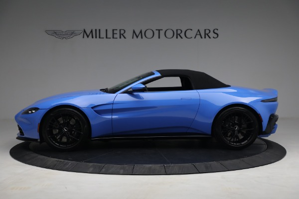 New 2021 Aston Martin Vantage Roadster for sale $186,386 at Bentley Greenwich in Greenwich CT 06830 13