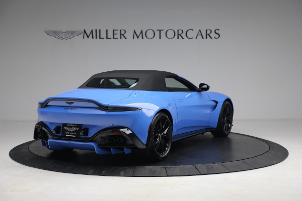 New 2021 Aston Martin Vantage Roadster for sale $186,386 at Bentley Greenwich in Greenwich CT 06830 15