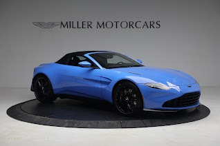 New 2021 Aston Martin Vantage Roadster for sale $186,386 at Bentley Greenwich in Greenwich CT 06830 17