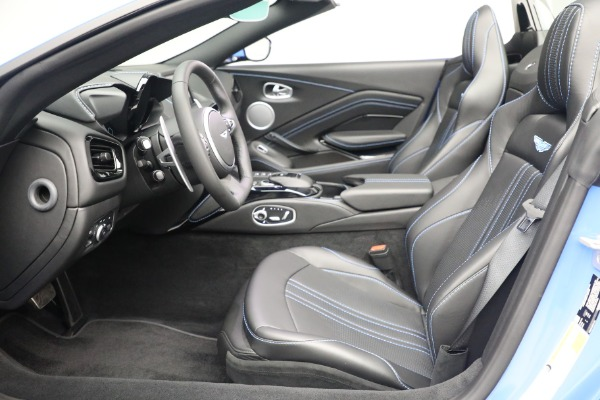 New 2021 Aston Martin Vantage Roadster for sale $186,386 at Bentley Greenwich in Greenwich CT 06830 18