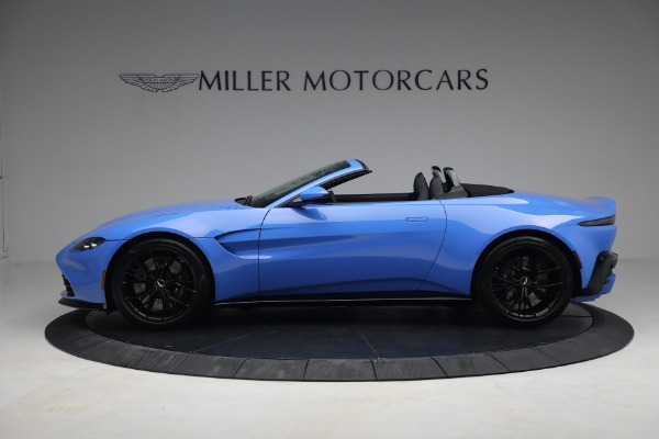 New 2021 Aston Martin Vantage Roadster for sale $186,386 at Bentley Greenwich in Greenwich CT 06830 2