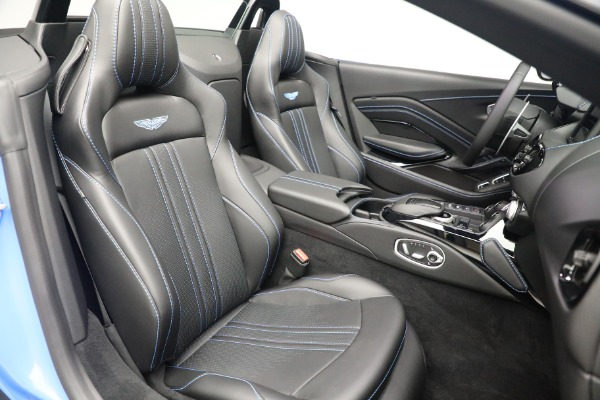 New 2021 Aston Martin Vantage Roadster for sale $186,386 at Bentley Greenwich in Greenwich CT 06830 22