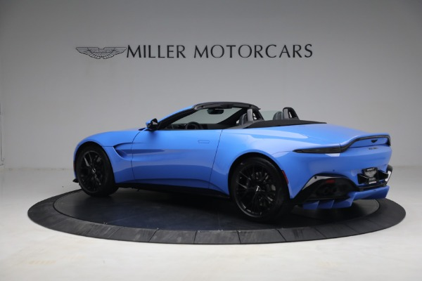 New 2021 Aston Martin Vantage Roadster for sale $186,386 at Bentley Greenwich in Greenwich CT 06830 3