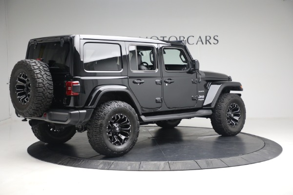Used 2020 Jeep Wrangler Unlimited Sahara for sale Sold at Bentley Greenwich in Greenwich CT 06830 10
