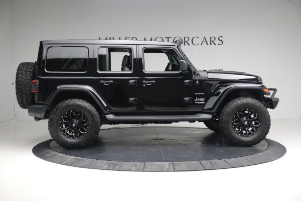 Used 2020 Jeep Wrangler Unlimited Sahara for sale Sold at Bentley Greenwich in Greenwich CT 06830 11
