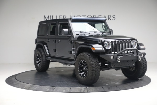 Used 2020 Jeep Wrangler Unlimited Sahara for sale Sold at Bentley Greenwich in Greenwich CT 06830 13