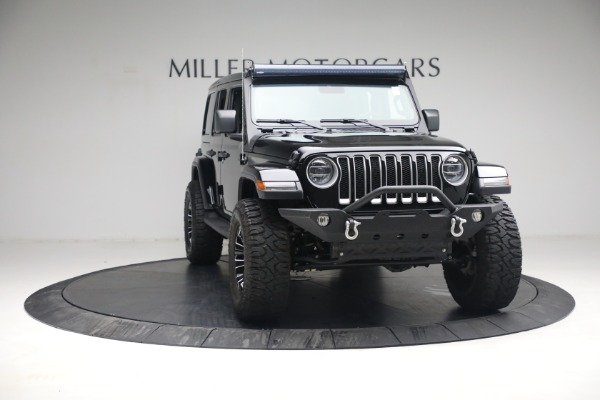 Used 2020 Jeep Wrangler Unlimited Sahara for sale Sold at Bentley Greenwich in Greenwich CT 06830 14