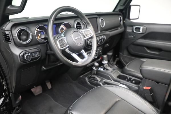 Used 2020 Jeep Wrangler Unlimited Sahara for sale Sold at Bentley Greenwich in Greenwich CT 06830 19