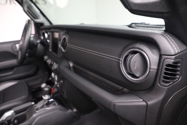 Used 2020 Jeep Wrangler Unlimited Sahara for sale Sold at Bentley Greenwich in Greenwich CT 06830 21