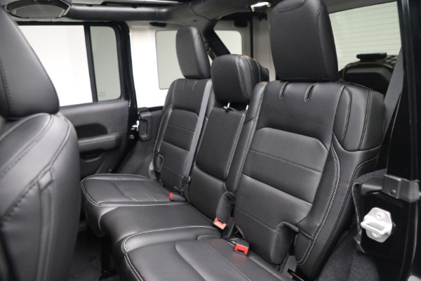 Used 2020 Jeep Wrangler Unlimited Sahara for sale Sold at Bentley Greenwich in Greenwich CT 06830 25