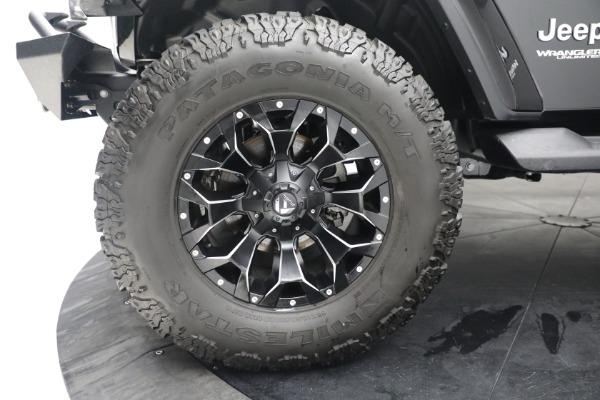 Used 2020 Jeep Wrangler Unlimited Sahara for sale Sold at Bentley Greenwich in Greenwich CT 06830 26