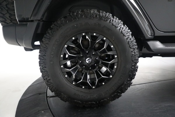 Used 2020 Jeep Wrangler Unlimited Sahara for sale Sold at Bentley Greenwich in Greenwich CT 06830 27