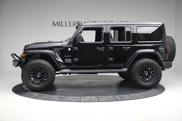 Used 2020 Jeep Wrangler Unlimited Sahara for sale Sold at Bentley Greenwich in Greenwich CT 06830 4