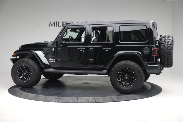 Used 2020 Jeep Wrangler Unlimited Sahara for sale Sold at Bentley Greenwich in Greenwich CT 06830 5