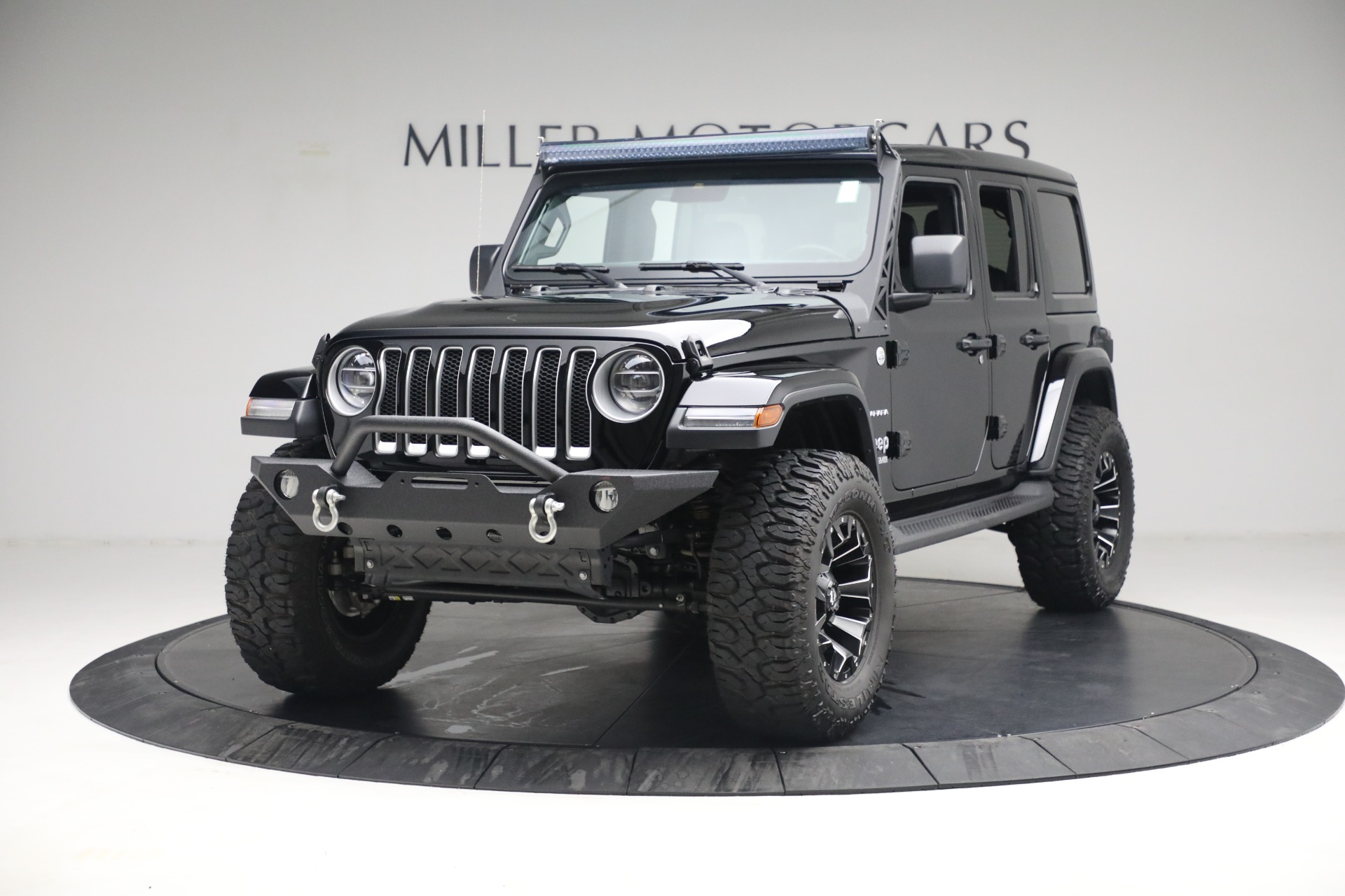 Used 2020 Jeep Wrangler Unlimited Sahara for sale Sold at Bentley Greenwich in Greenwich CT 06830 1