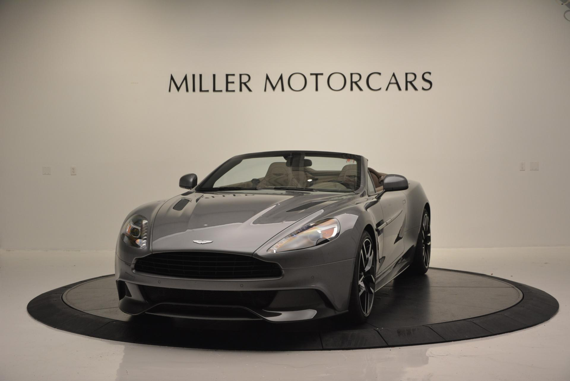 New 2016 Aston Martin Vanquish Volante for sale Sold at Bentley Greenwich in Greenwich CT 06830 1