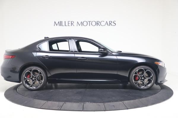 New 2022 Alfa Romeo Giulia Veloce for sale $52,045 at Bentley Greenwich in Greenwich CT 06830 9