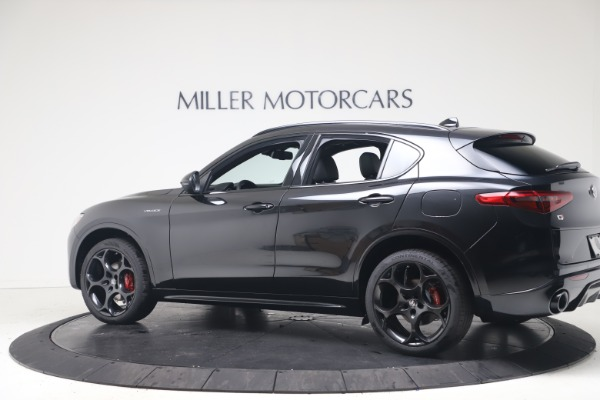New 2022 Alfa Romeo Stelvio Veloce for sale Sold at Bentley Greenwich in Greenwich CT 06830 4