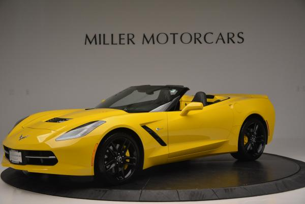 Used 2014 Chevrolet Corvette Stingray Z51 for sale Sold at Bentley Greenwich in Greenwich CT 06830 2
