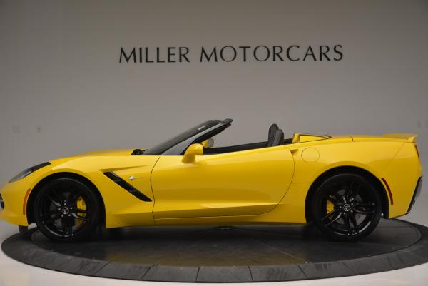 Used 2014 Chevrolet Corvette Stingray Z51 for sale Sold at Bentley Greenwich in Greenwich CT 06830 3