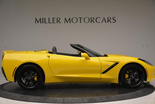 Used 2014 Chevrolet Corvette Stingray Z51 for sale Sold at Bentley Greenwich in Greenwich CT 06830 8